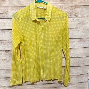 Halogen Small Button Up Top